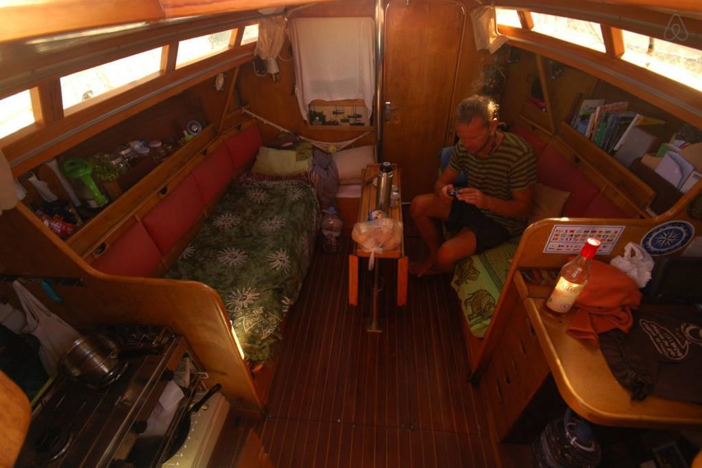 Segelboot Sardinien